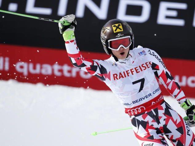 Doppelweltmeisterin Anna Fenninger