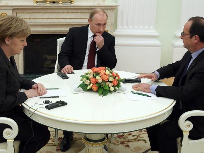 as Treffen gilt als entscheidend für die Zukunft des Donbass.