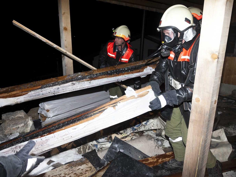 Flammen konnten schnell unter Kontrolle gebracht werden.