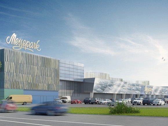 Der Messepark soll innen und außen umgebaut und nach Kriterien der Energieeffizienz und Nachhaltigkeit modernisiert werden.