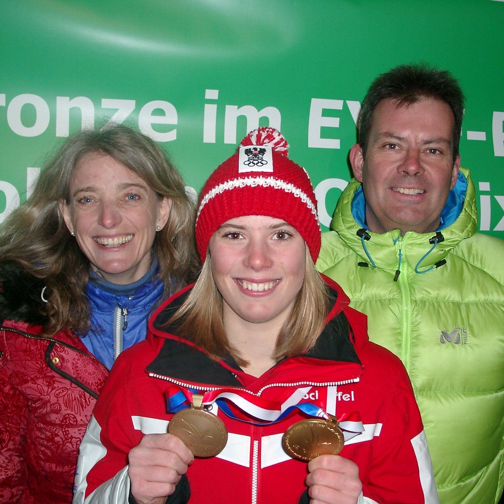 Katharina Liensberger gewann in der Steiermark einen Riesentorlauf.