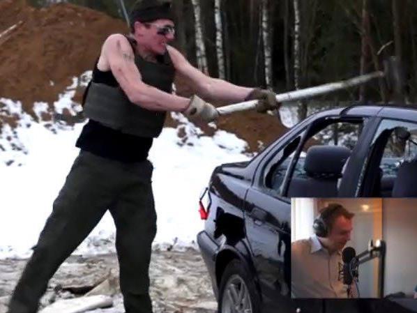 Die Rache einer Frau: Betrogene lässt BMW von Freund demolieren.