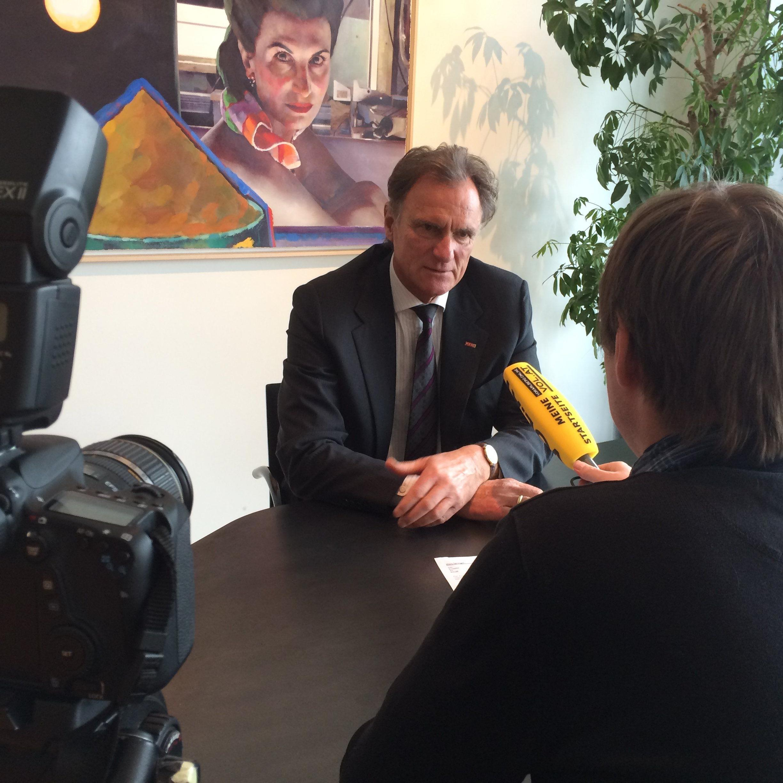 WKV-Präsident Manfred Rein im Interview mit VOL.AT-CR Marc Springer.