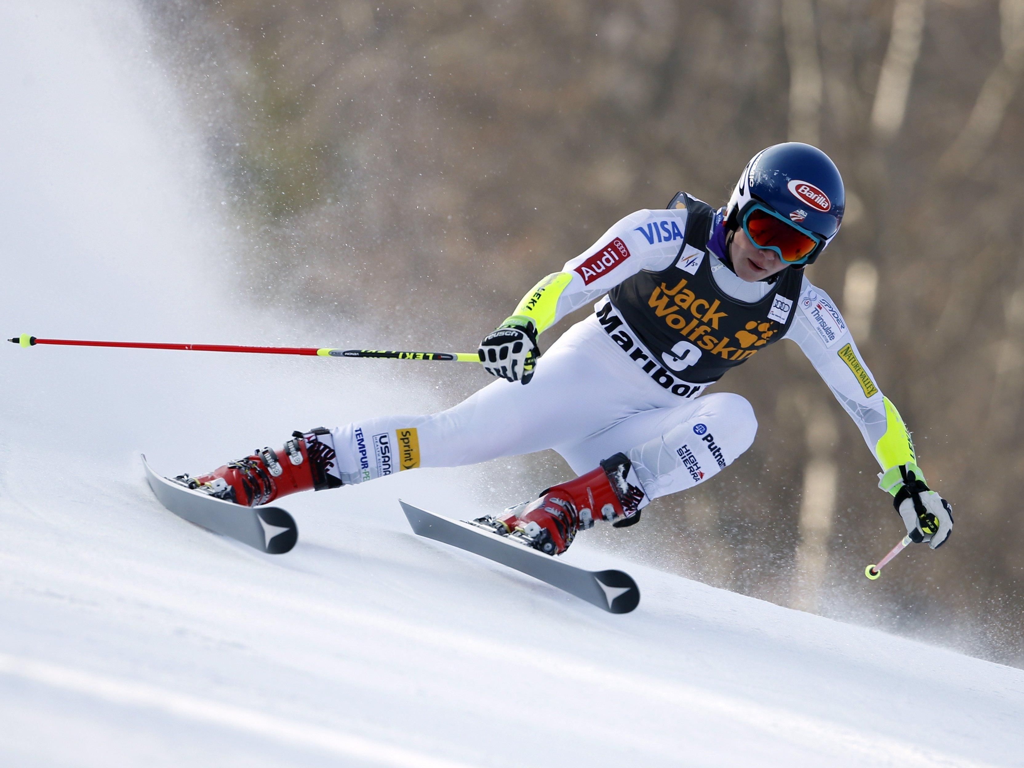 Damen-Slalom in Maribor: Shiffrin übernimmt Führung