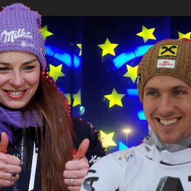Tina Maze und Marcel Hirscher haben am meisten Preisgeld eingefahren.