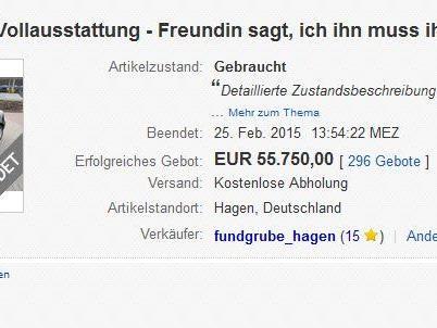 Auktion endete mit unglaublichem Preis