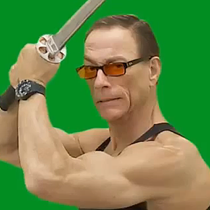 Mit ein paar Tricks spielt Jean-Claude Van Damme im eigenen Film mit.