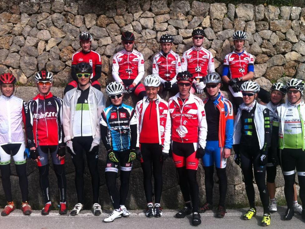 Auf Mallorco holten sich die jungen Mountainbiker den Feinschliff