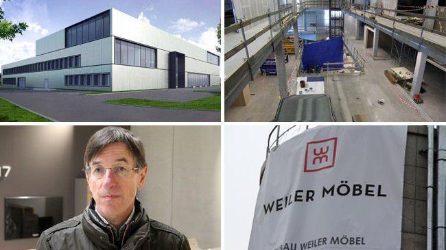 Rundgang Durch Den Neubau Weiler Mobel Weiler Vol At