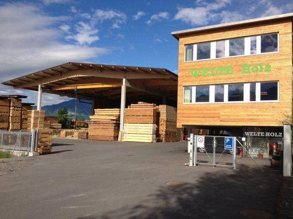 Die Stadt Feldkirch lädt zu einer Führung bei Holz Welte ein.