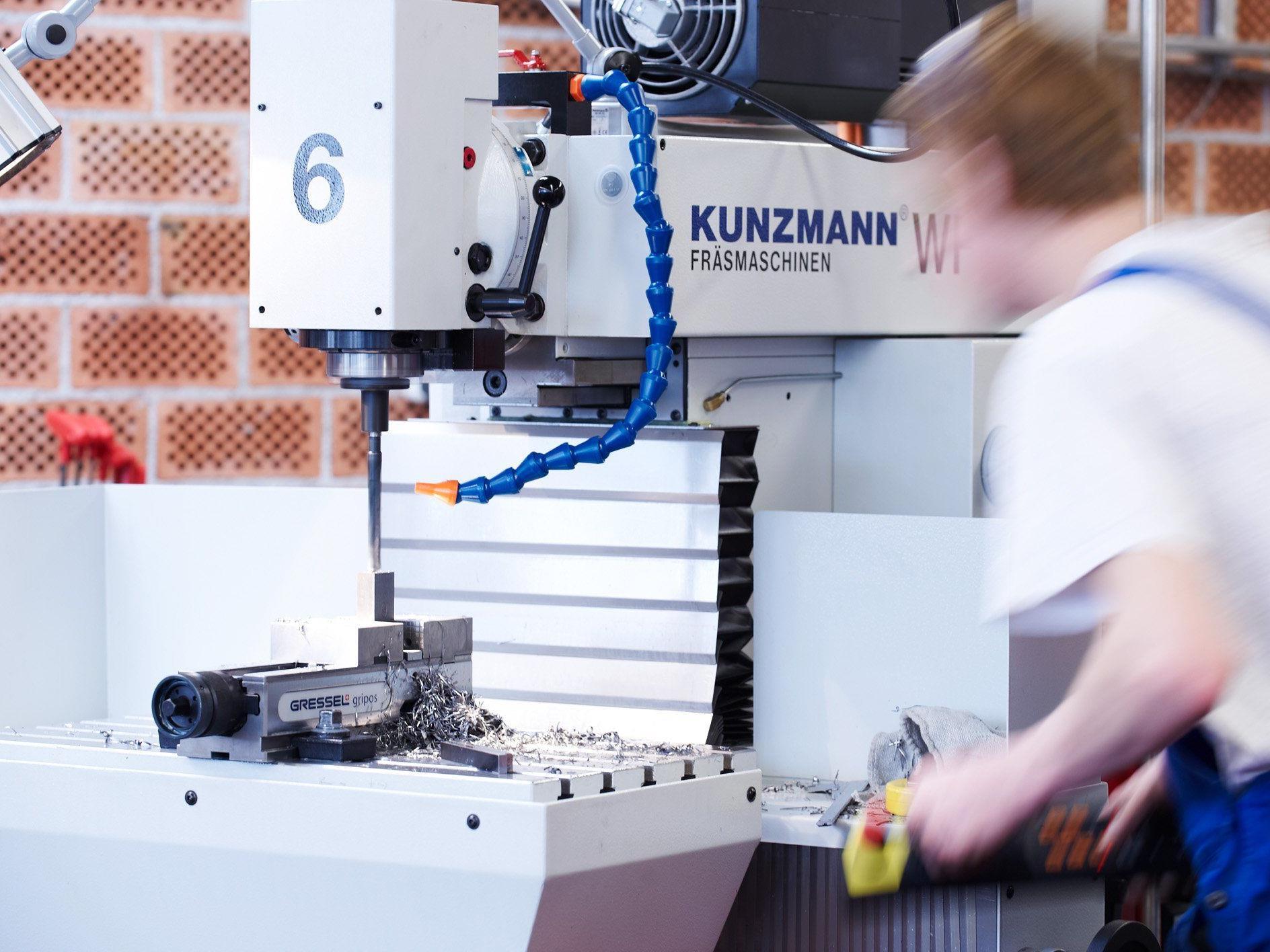 Bis 2017 werden vier neue Maschinen für die WIFI-Metallwerkstätte angeschafft.