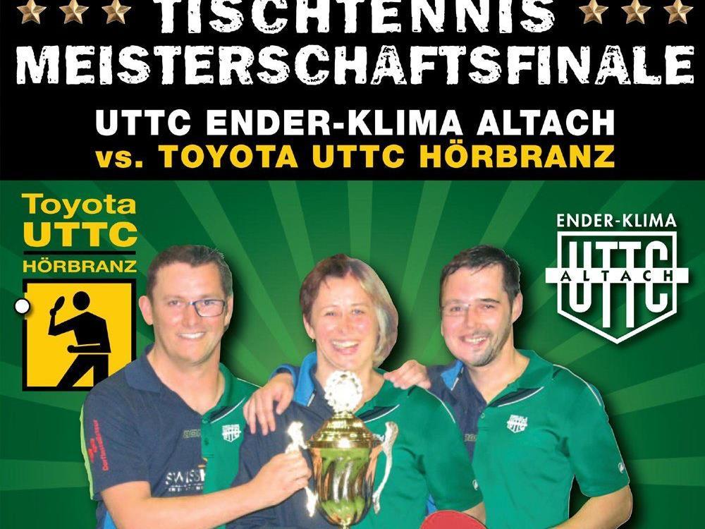 Vlbg. Tischtennis Meisterschafts-Finalkampf  2015