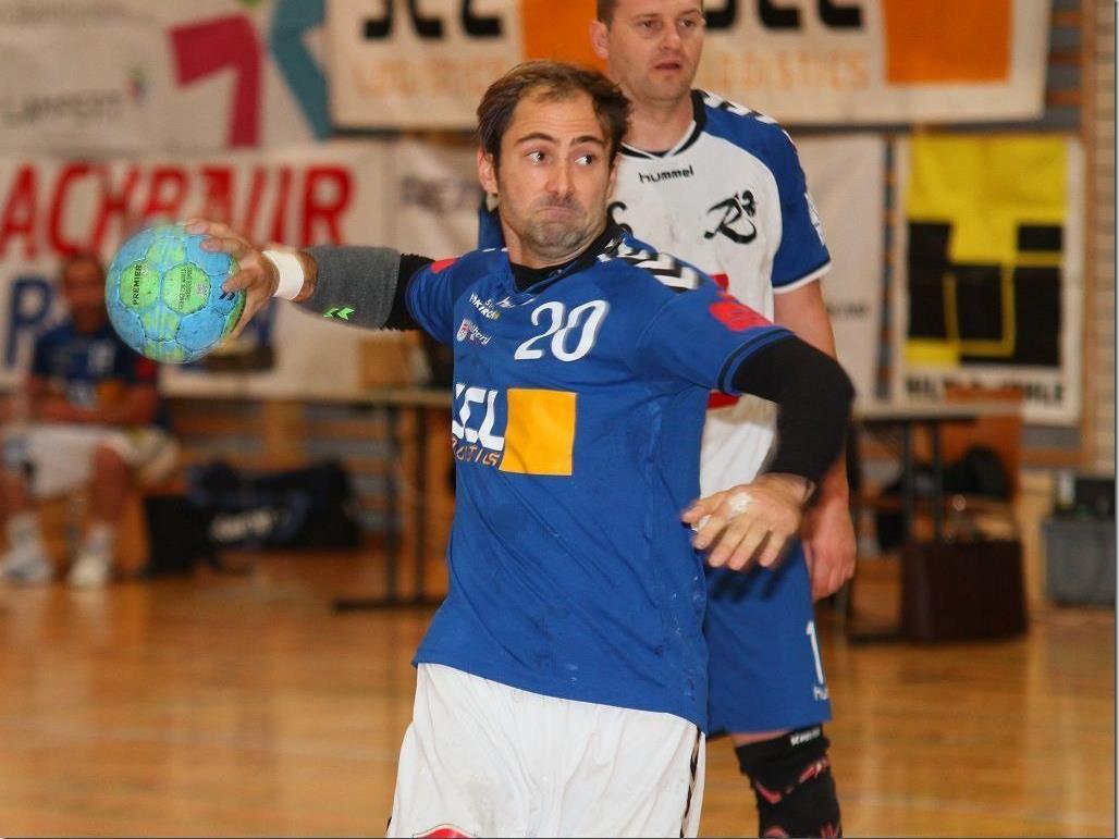Philipp Franz warf fünf Tore, aber auch er konnte die Auswärtspleite nicht verhindern.