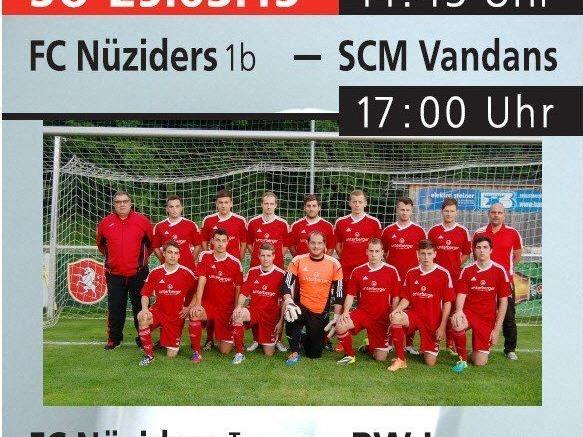 Rückrundenstart FC Nüziders