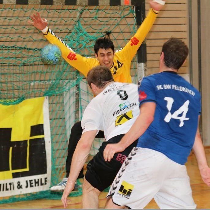 Feldkirchs Handballer verloren mit zwei Toren Differenz