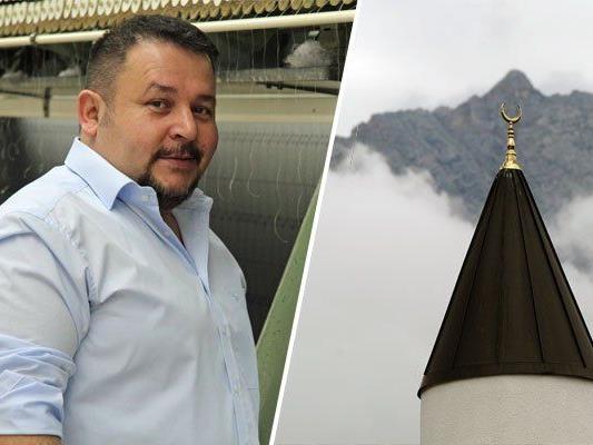 Hasan Sükün ist ATIB-Mitglied - der die FPÖ wegen Minarettplänen meist kritisch gegenüber steht.