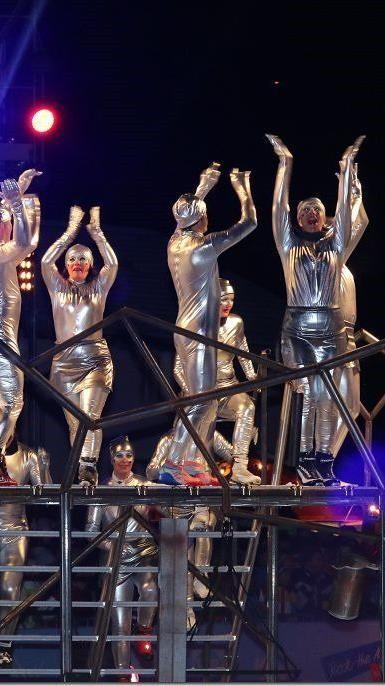 Die EYOF stand ganz im Zeichen eines großen Sportfest mit den olympischen Ringen.