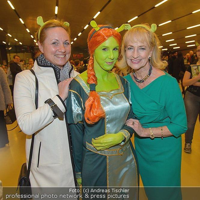 Zahlreiche Prominenz bei der Premiere zum Shrek Musical in der Wiener Stadthalle