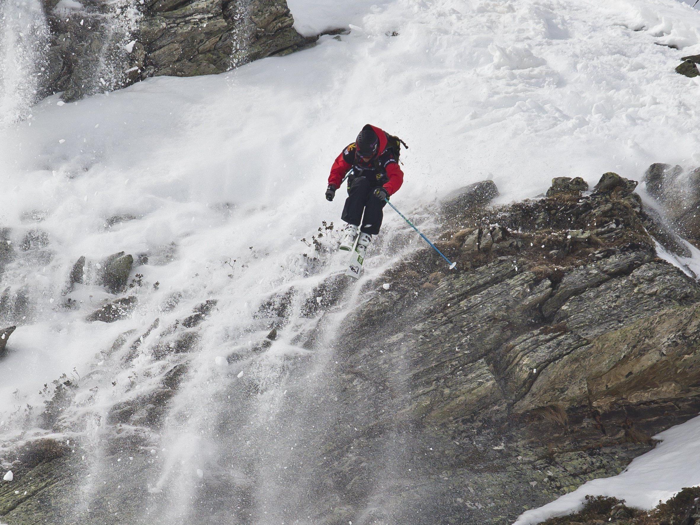 """Am 7. März richtet sich der Blick der Freeride-Community auf die """"Heimspitze"""" in der Silvretta Montafon."""