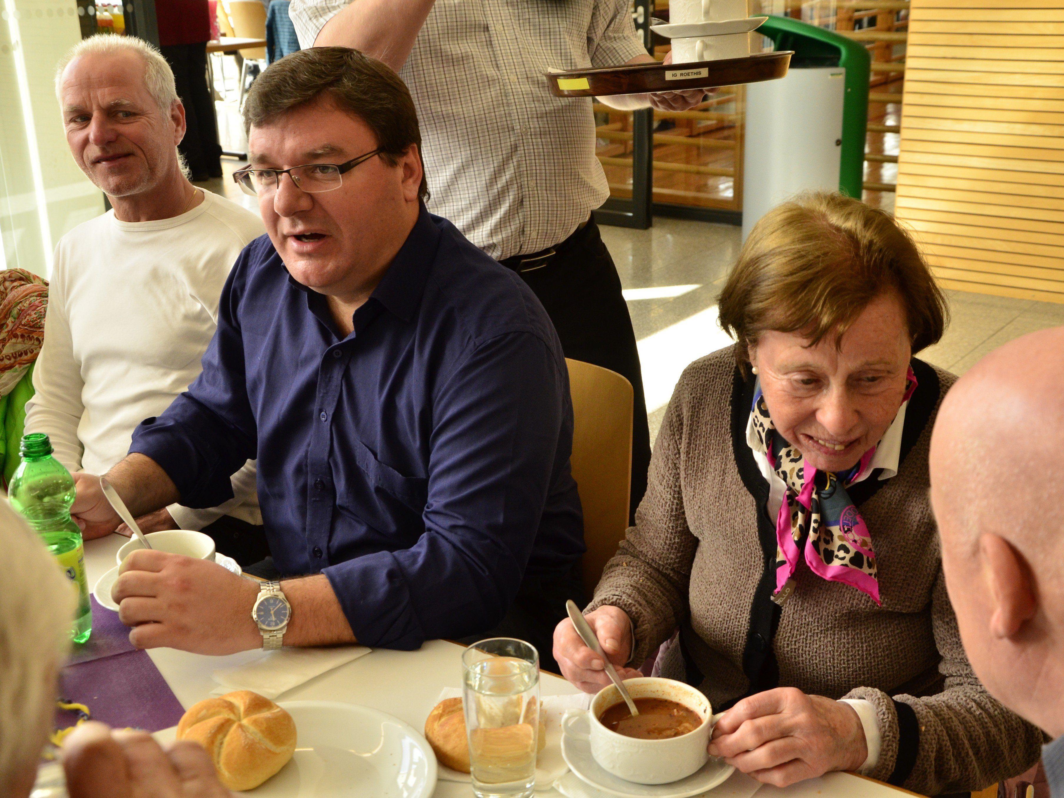 Der Suppensonntag in Sulz war ein voller Erfolg.