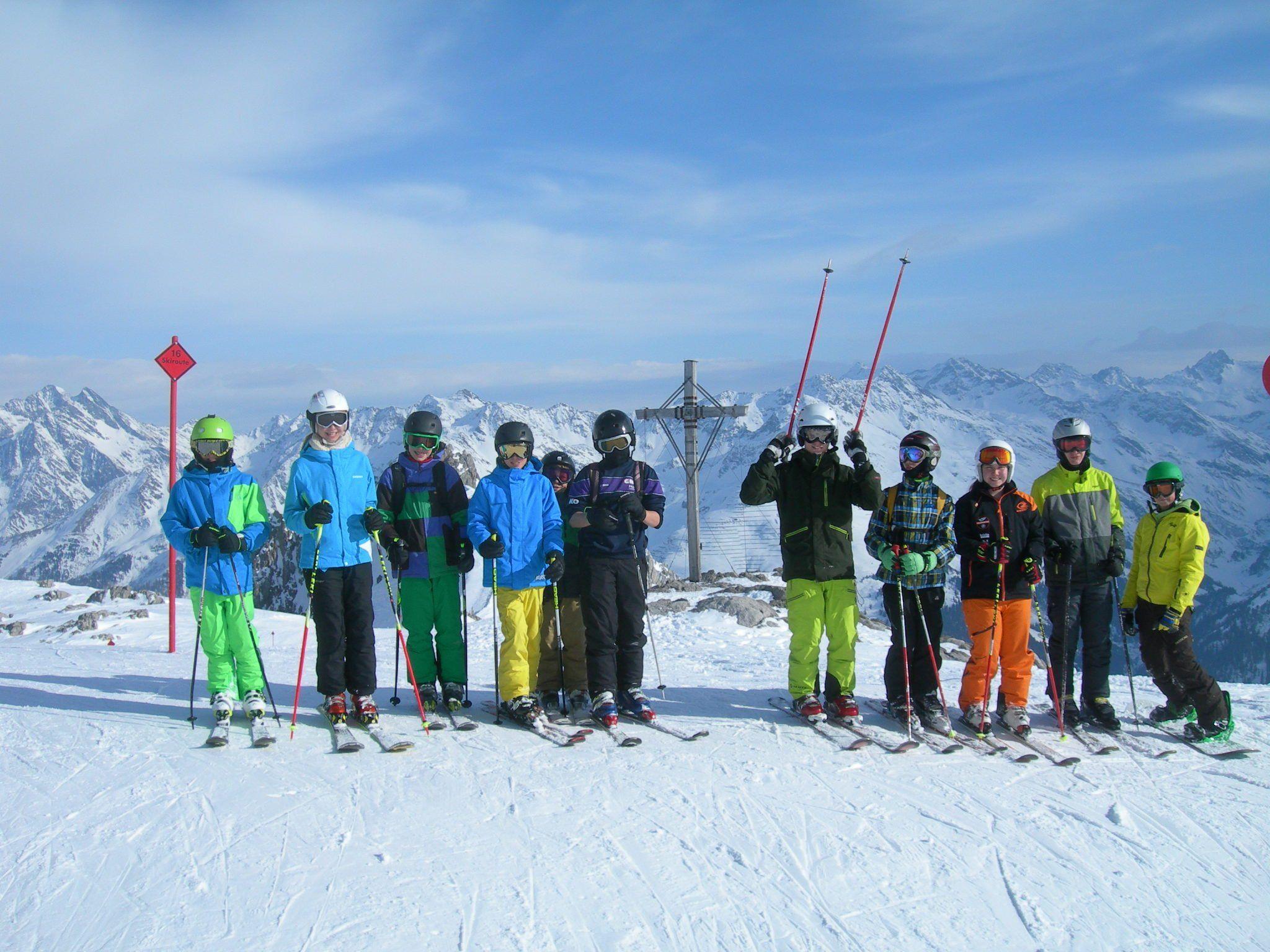 Skitag in St. Anton a. Arlberg