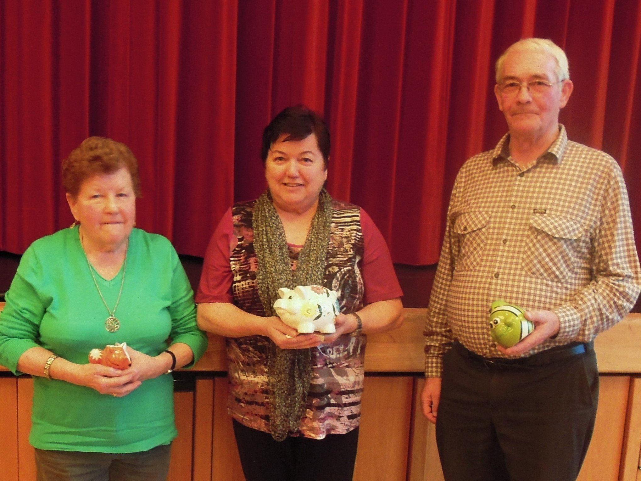 rmin Spalt konnte Burtscher Gerd und Kilzer Marlies – gleiche Punkteanzahl – zum 1. Preis gratulieren. 3. wurde Konzett Hildegard.