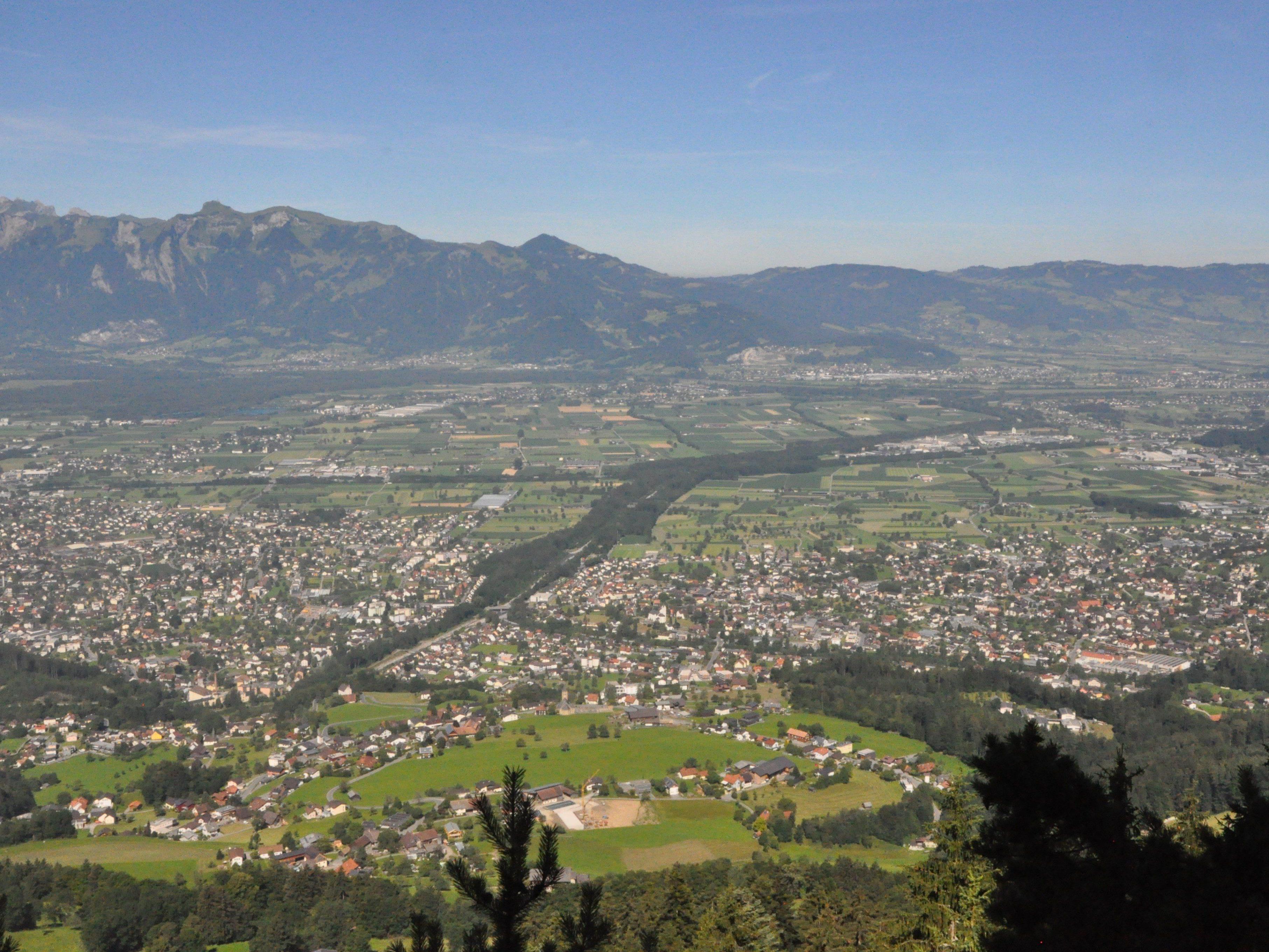 Die Regio Vorderland Feldkirch hat eine neue Wander- und Freizeitkarte