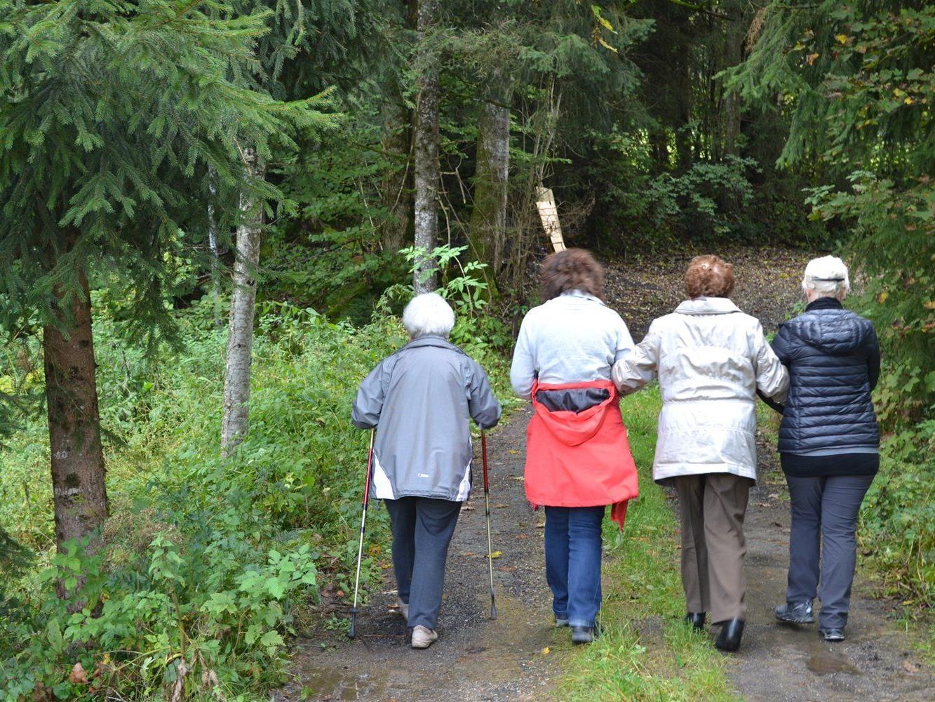 """Unter dem Motto """"Dem Leben vertrauen"""" bietet die Caritas Seniorenarbeit Erholungswochen für Menschen ab 70 Jahren an."""