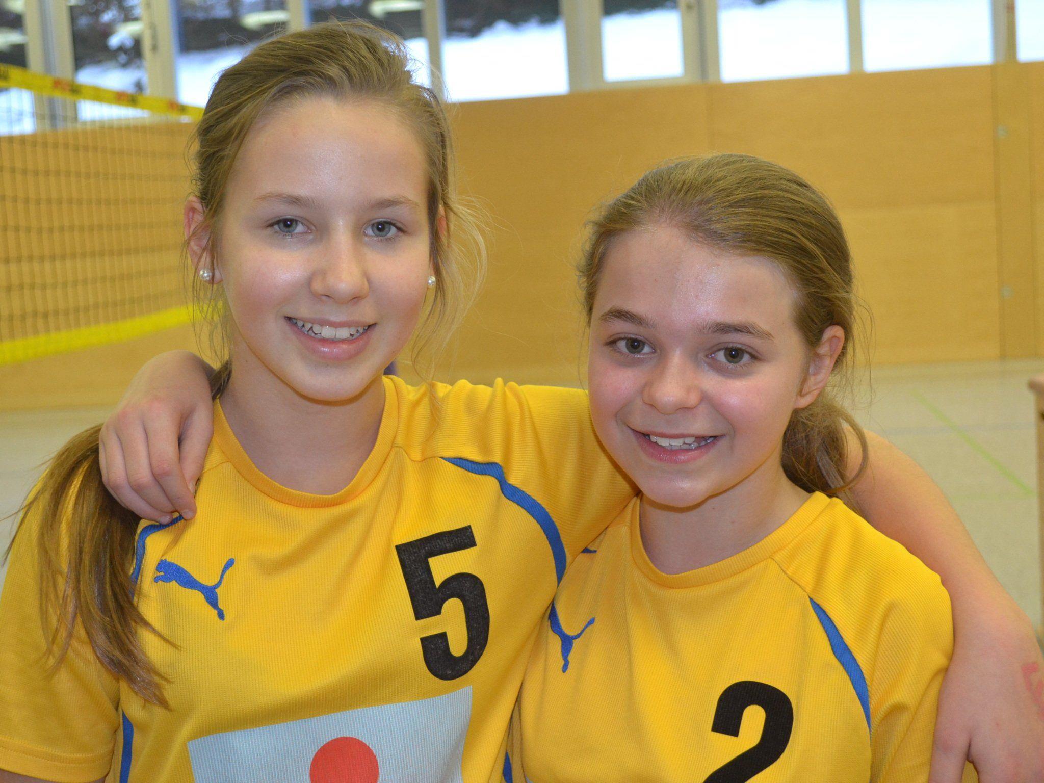 Zwei Damen des Erfolgs-Teams aus Nüziders: Maja und Alida.