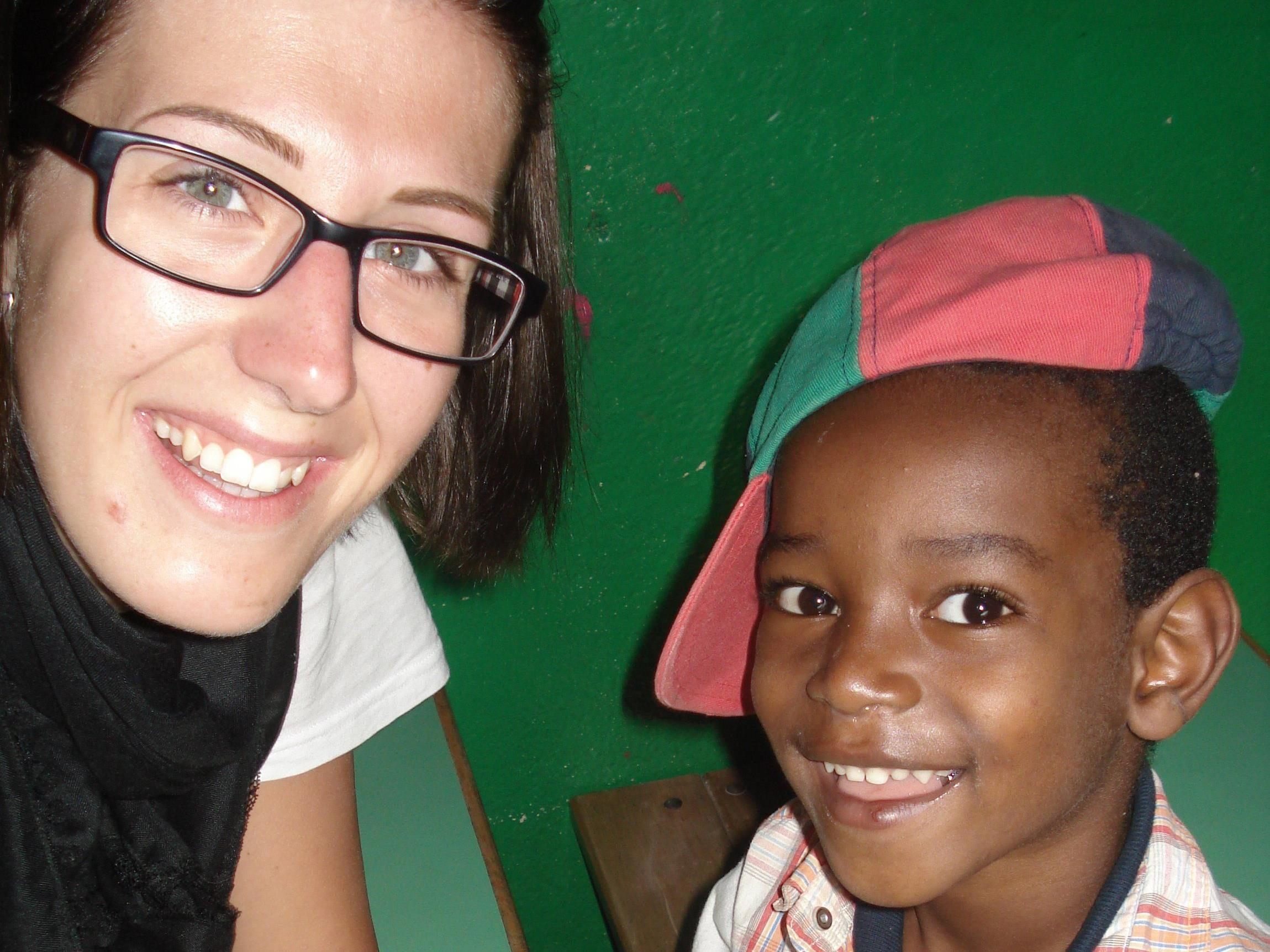 Nicole Heim war als Freiwillige in Äthiopien im Einsatz.
