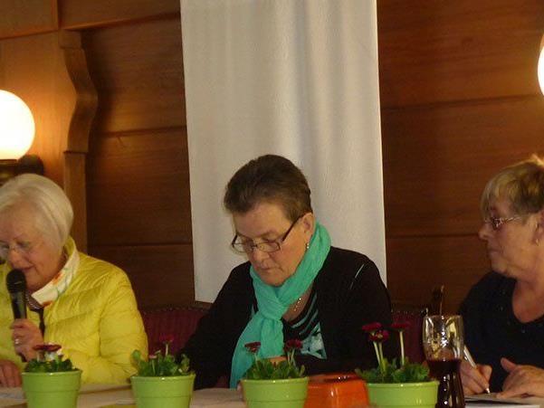 Reinelde Gut, Irmgard Frank, Pia Mair