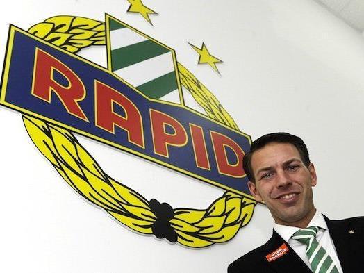 Rapid Geschäftsführer Christoph Peschek ist stolz auf das soziale Engagement seines Clubs.