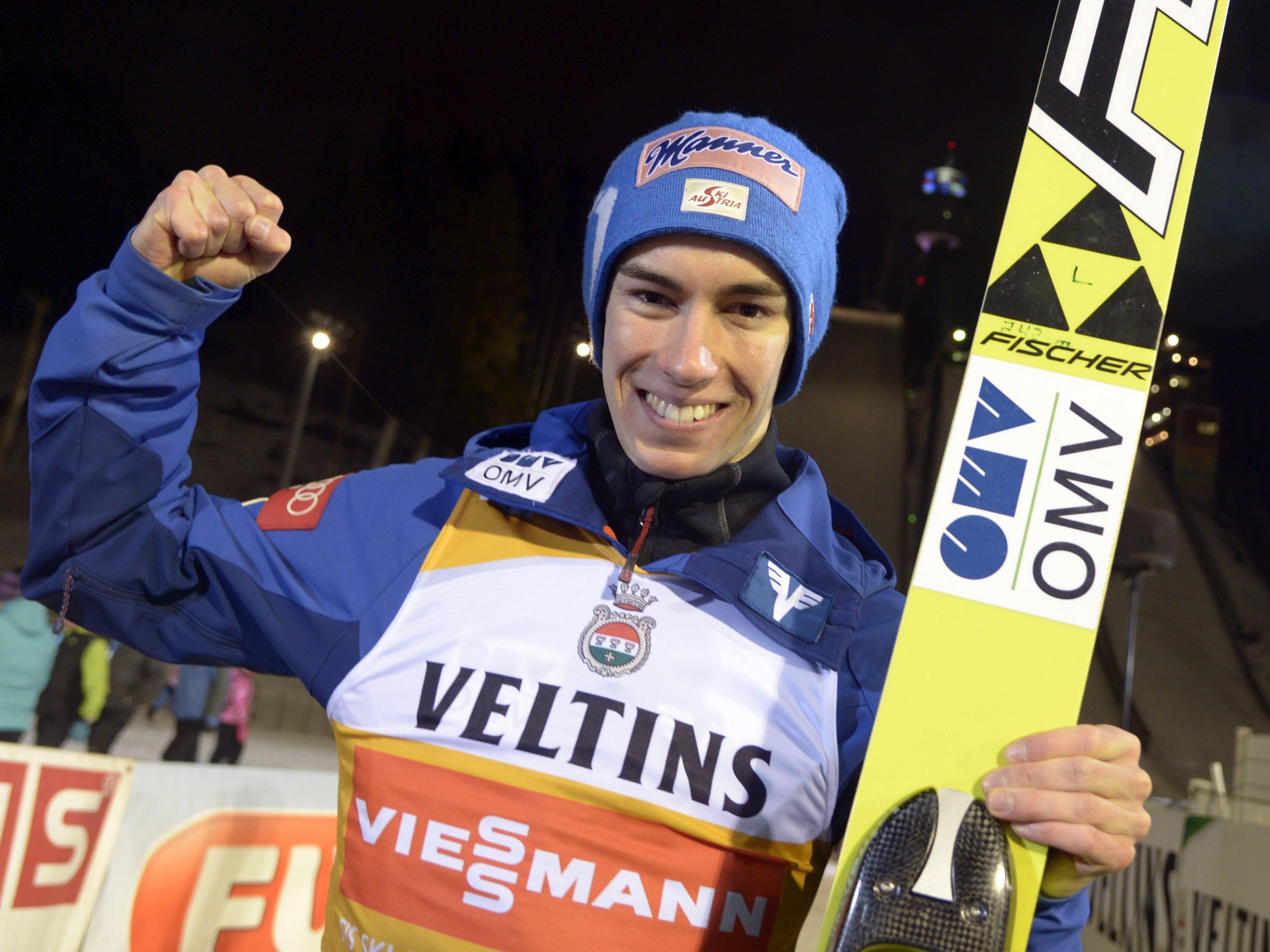 Stefan Kraft tritt in trondheim als Führender im Gesamtweltcup an.