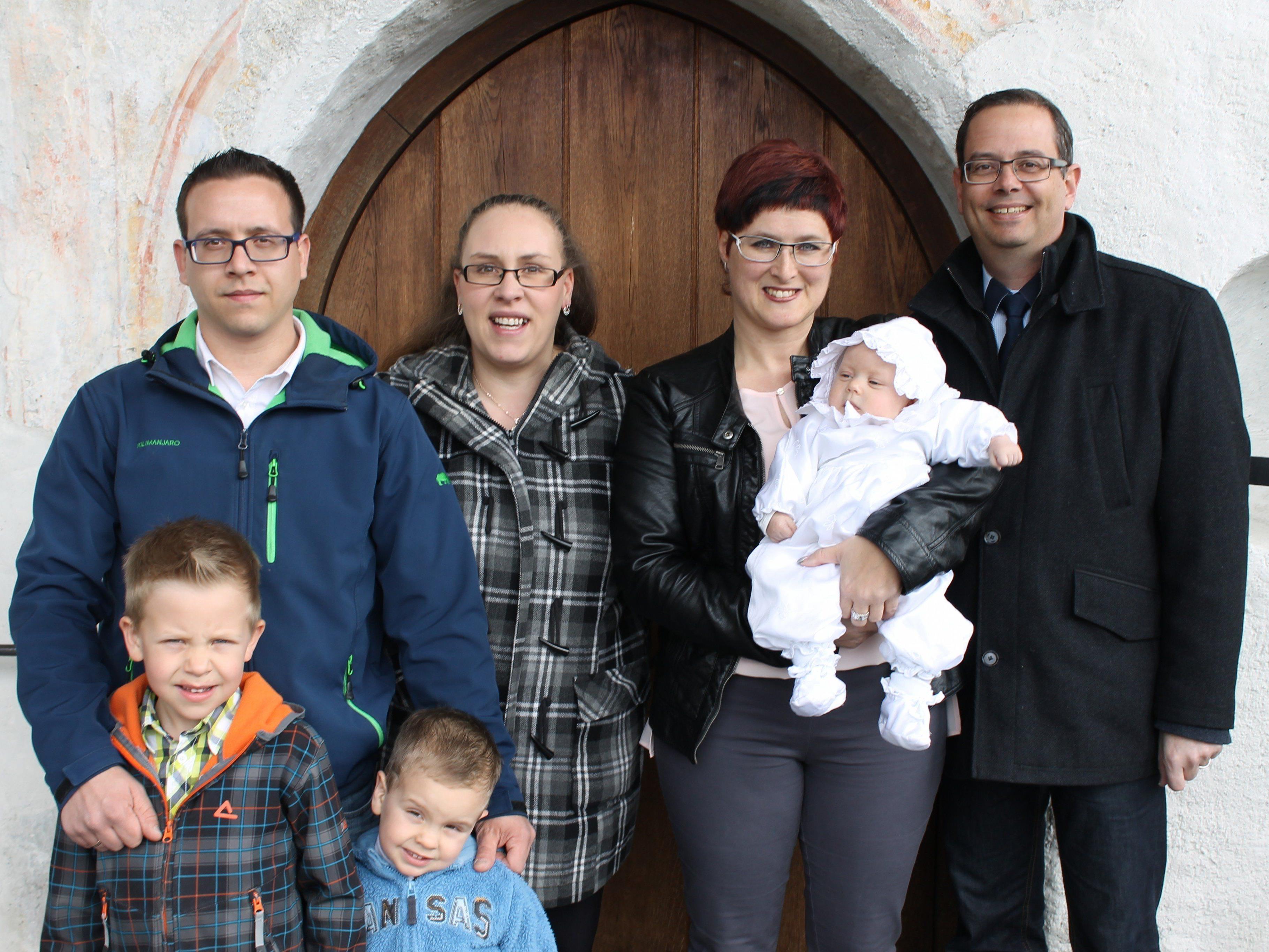 Emilia Schiavone wurde in der St. Vinerkirche getauft