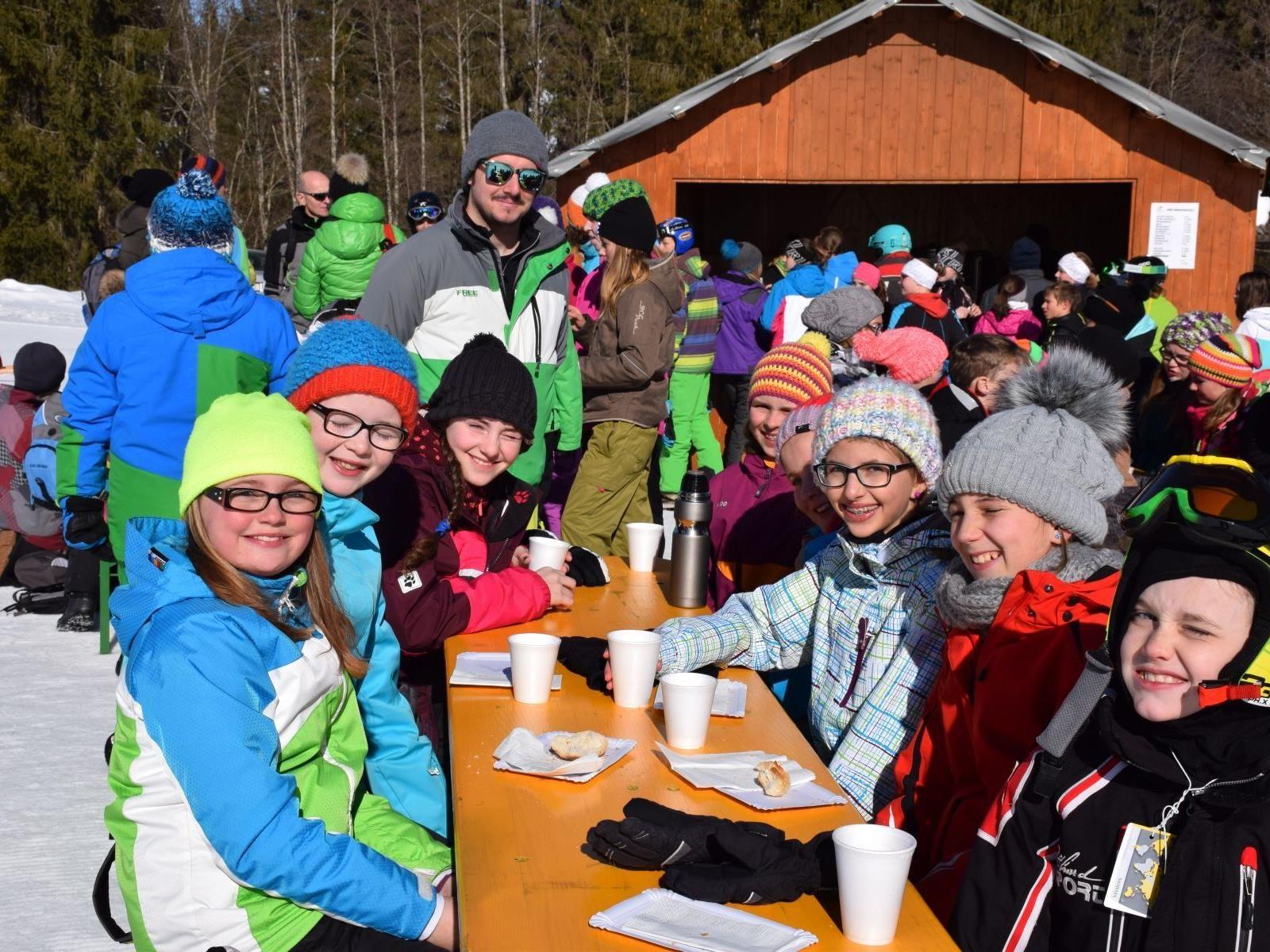 Wintersportag in Sibratsgfäll