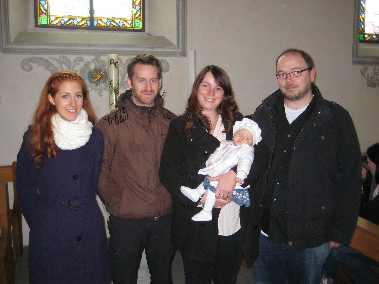 Emma Ingrid Fritz wurde getauft.