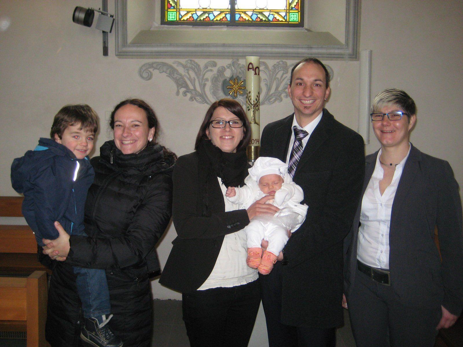 Annalena Glatzle wurde getauft.