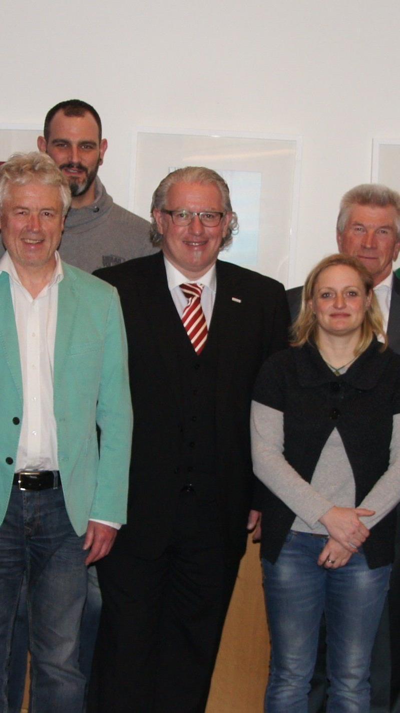 Generationswechsel im Triathlonverband mit Thomas Bader als Neopräsident.