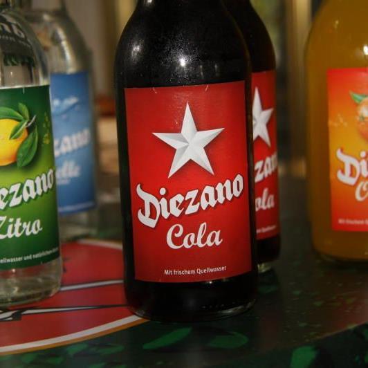Beendigung der Abfüllung von Diezano-Limonaden