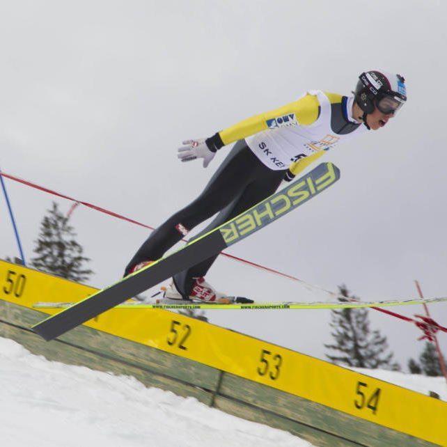Felix Greber wurde Landesmeister im Springen und in der Kombination.