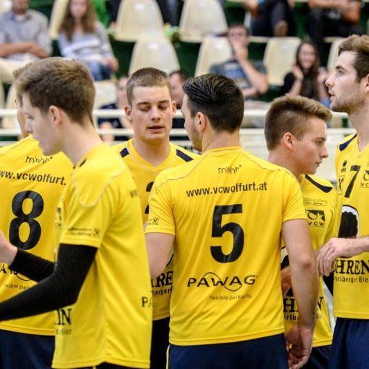 VC Wolfurt gewann gegen Salzburg klar in drei Sätzen.