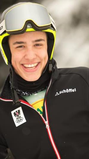 Der Montafoner Pascal Fritz platzierte sich im geschlagenen Feld.