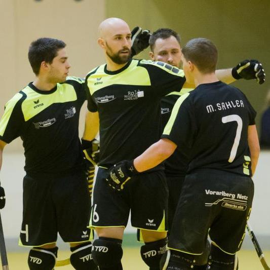 RHC Dornbirn gewann das erste Endspiel knapp mit 4:3