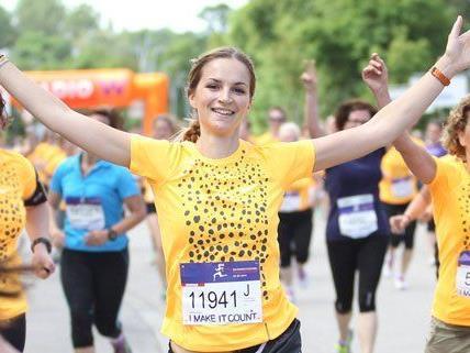 Heuer können mehr Frauen am Lauf in Wien teilnehmen.