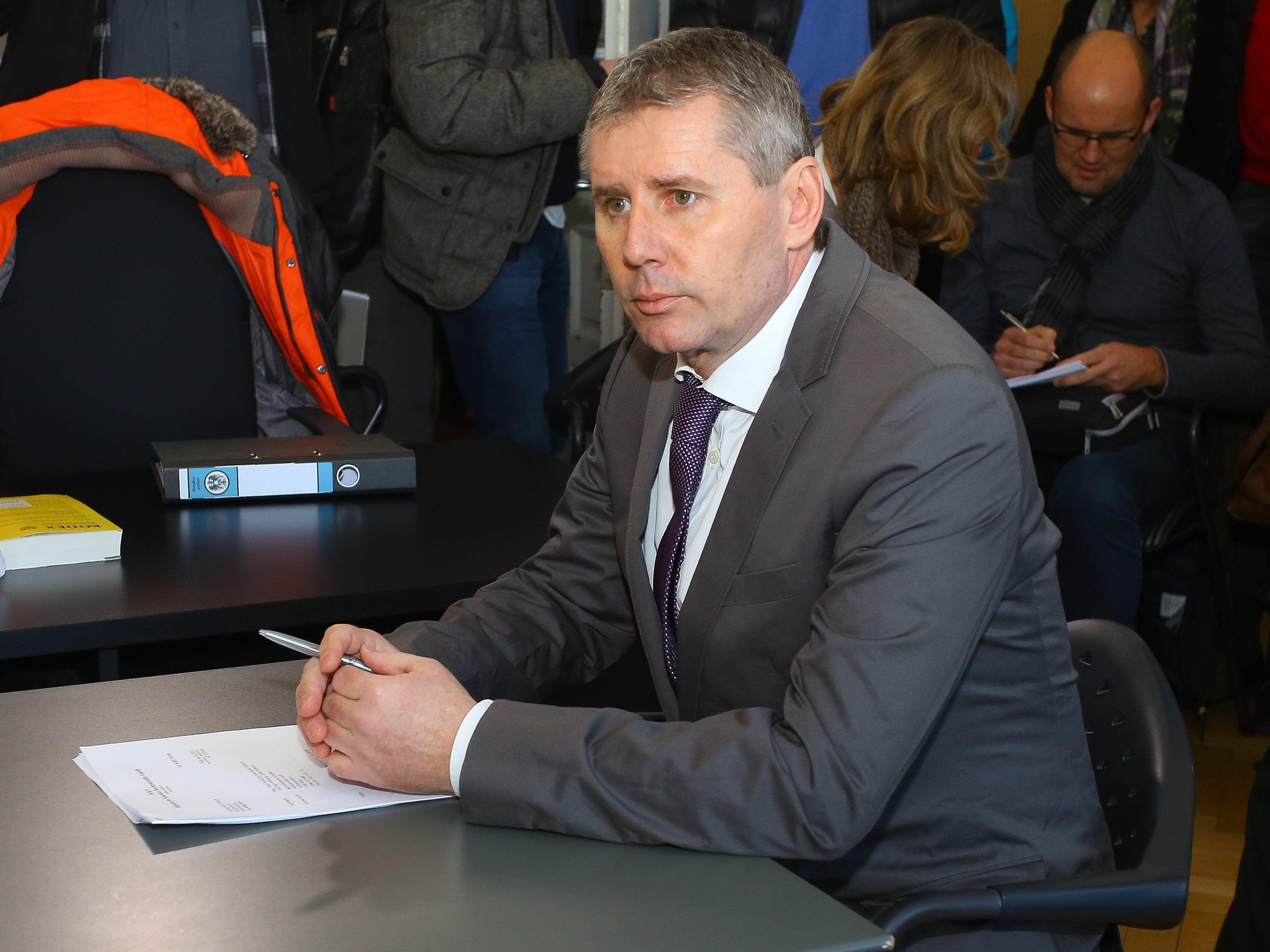 Dritte Anklage gegen Dieter Sperger eingebracht.