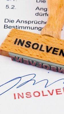 Die Hauptgründe für die private Insolvenzen ist ehemalige selbstständige Tätigkeit