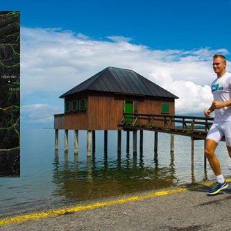 Die Fitness-App Strava zeigt auch die beliebtesten Laufstrecken der Vorarlberger.
