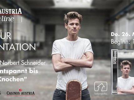 Norbert Schneider legt nach: Zwölf neue Songs.