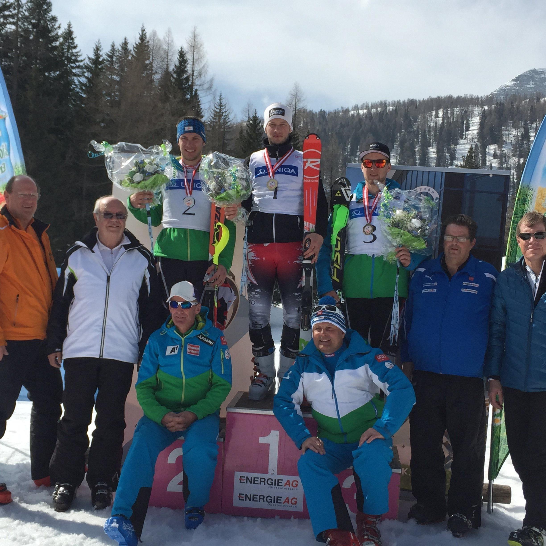 Der Lauteracher Christian Hirschbühl kürt sich zum österreichischen Slalom-Meister.
