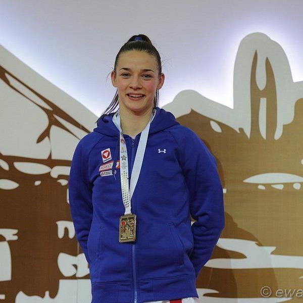 DIe Feldkircherin Bettina Plank wurde in Istanbul zweifache Europameisterin.